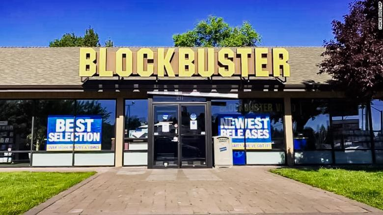 Blockbuster the store front